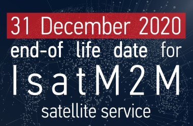 Isat M2M Phase-Out announcement